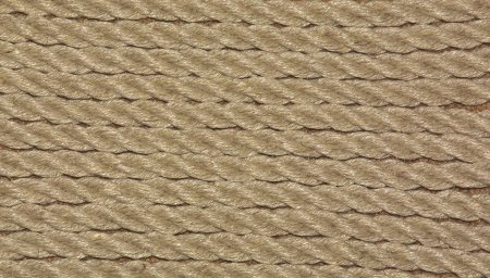 natural 6mm hemp closeup