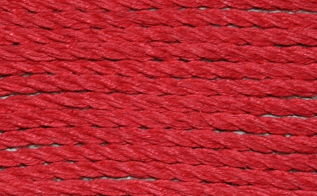 new red hemp closeup